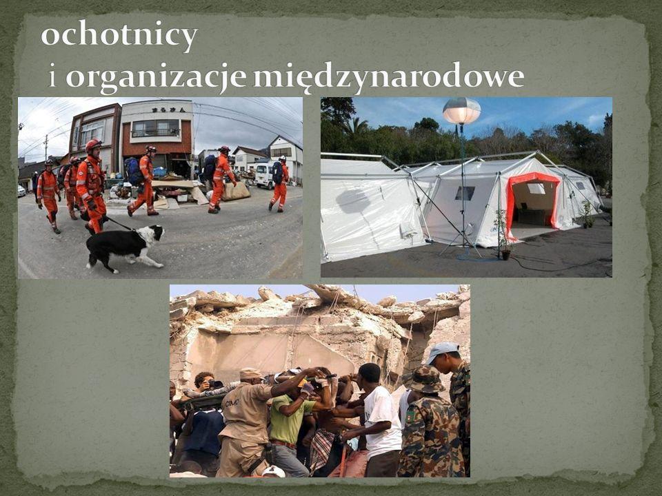 ochotnicy i organizacje międzynarodowe