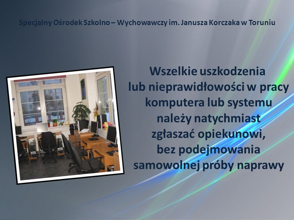 Specjalny Ośrodek Szkolno – Wychowawczy im. Janusza Korczaka w Toruniu