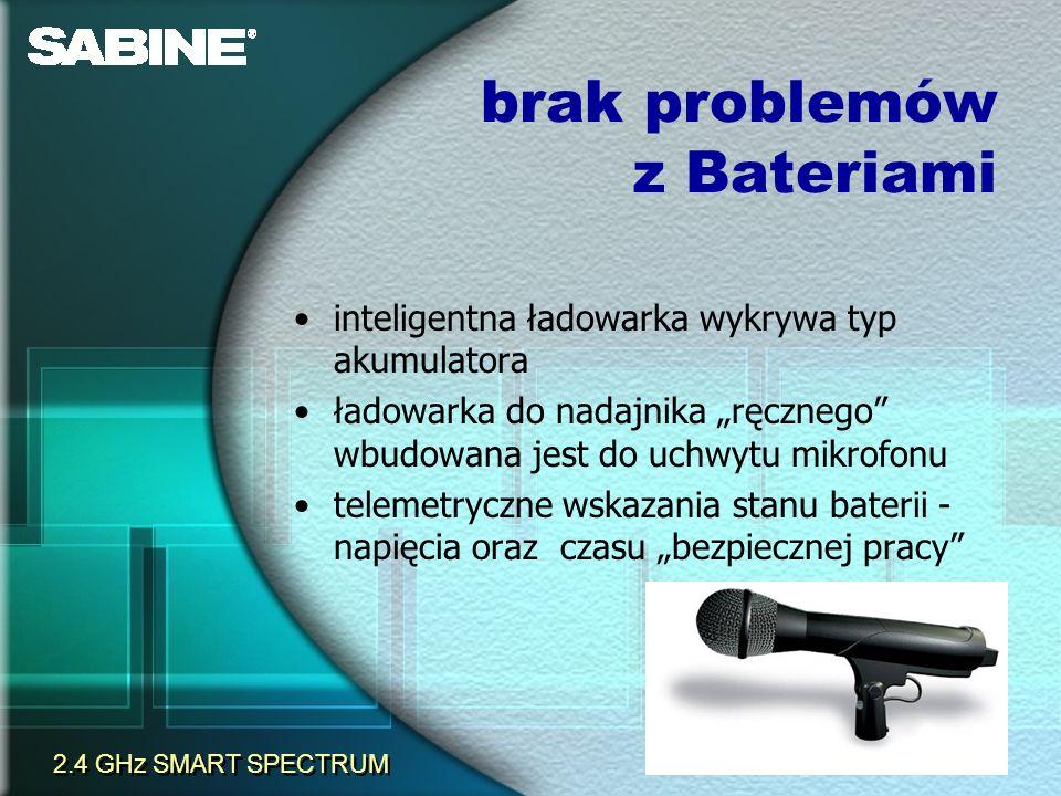 brak problemów z Bateriami