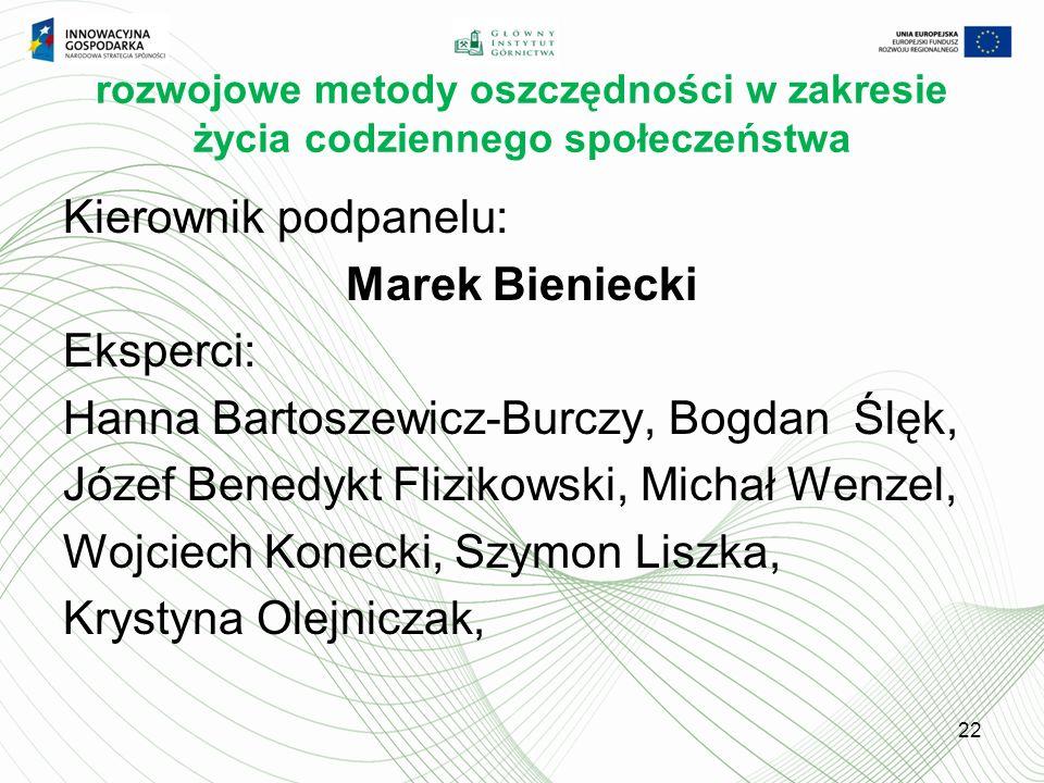 Hanna Bartoszewicz-Burczy, Bogdan Ślęk,