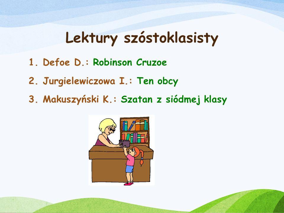 Lektury szóstoklasisty
