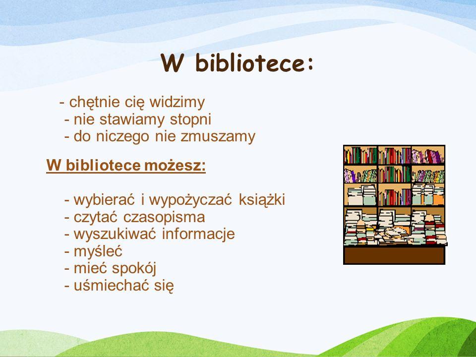 W bibliotece: