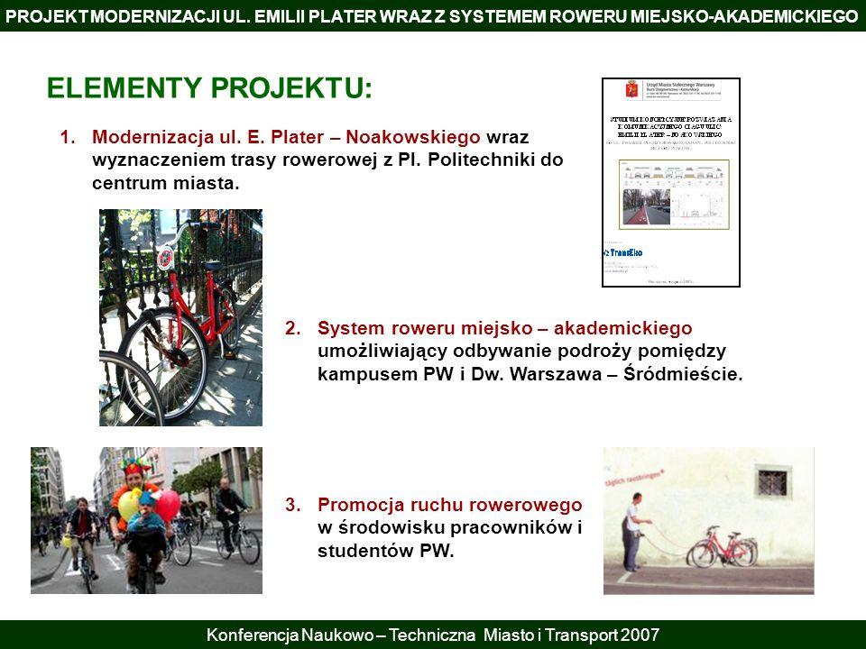 Konferencja Naukowo – Techniczna Miasto i Transport 2007