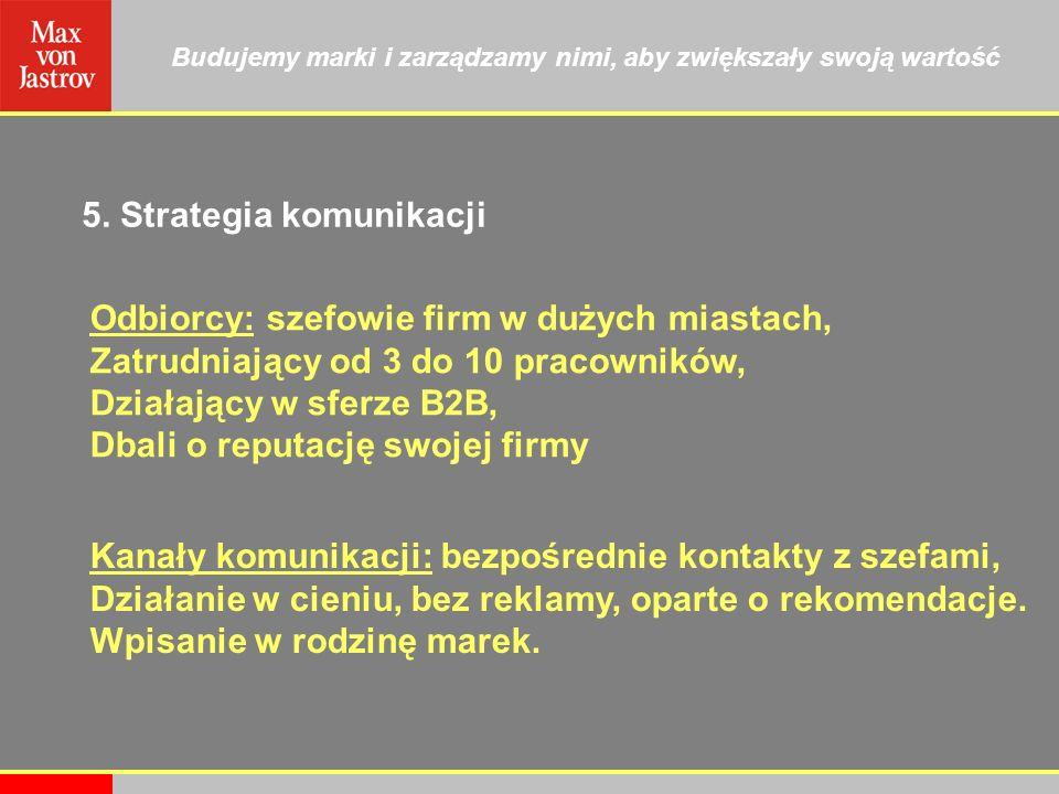 5. Strategia komunikacji