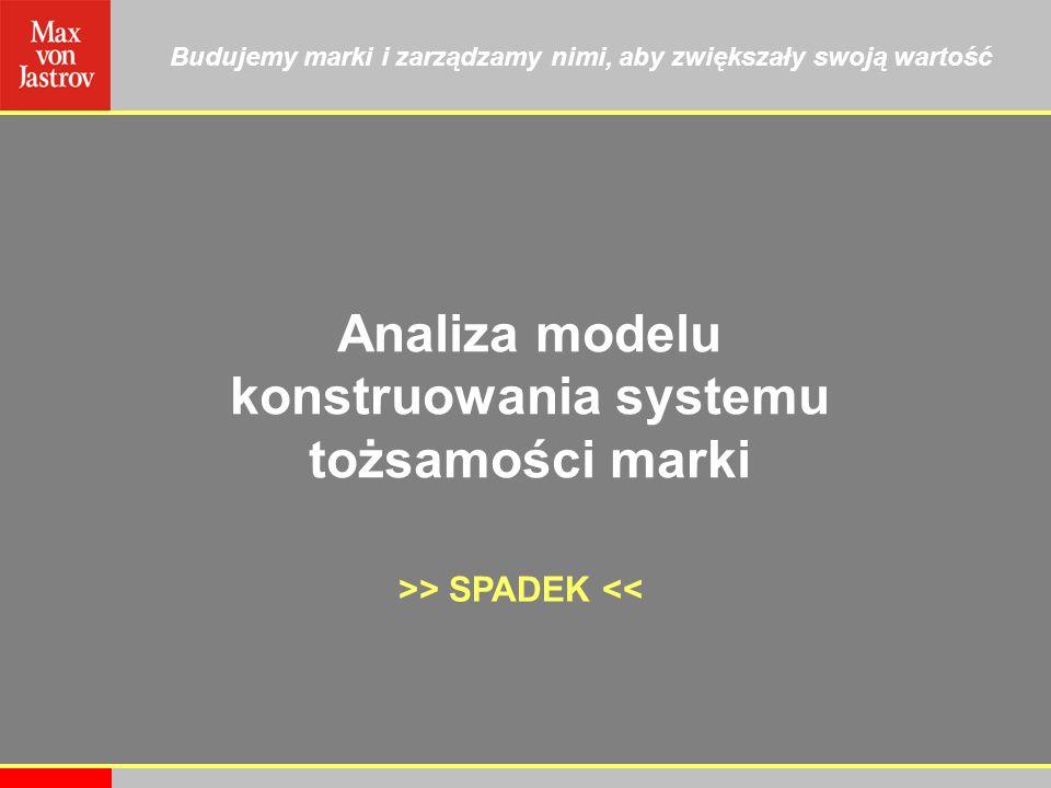 Analiza modelu konstruowania systemu tożsamości marki