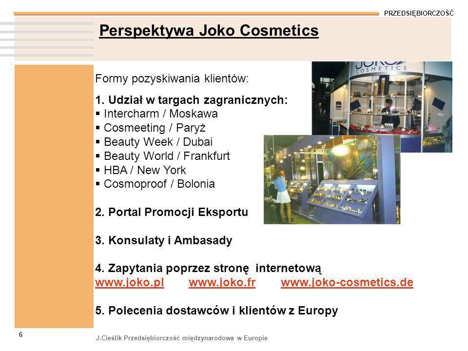 Perspektywa Joko Cosmetics