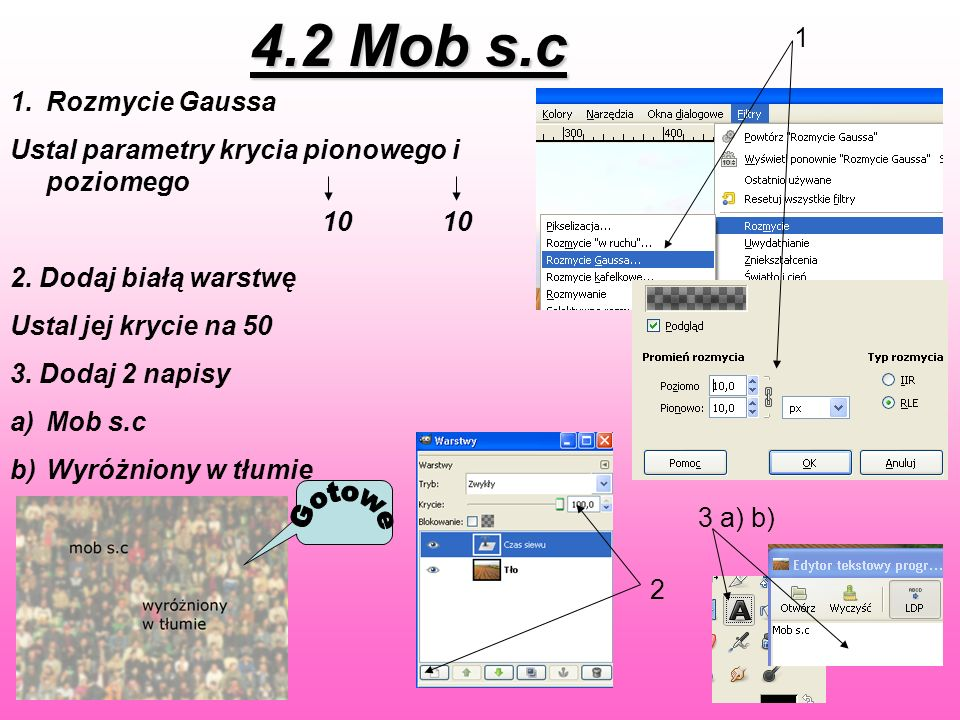 4.2 Mob s.c Gotowe 1 Rozmycie Gaussa