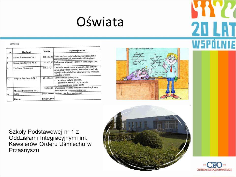Oświata Szkoły Podstawowej nr 1 z Oddziałami Integracyjnymi im.