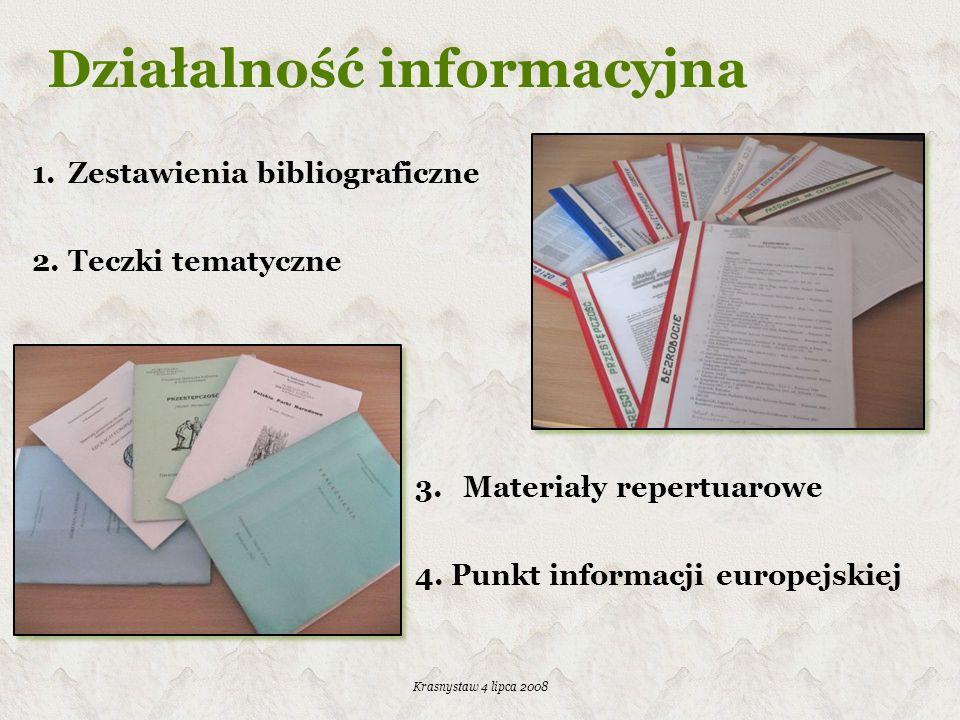 Działalność informacyjna