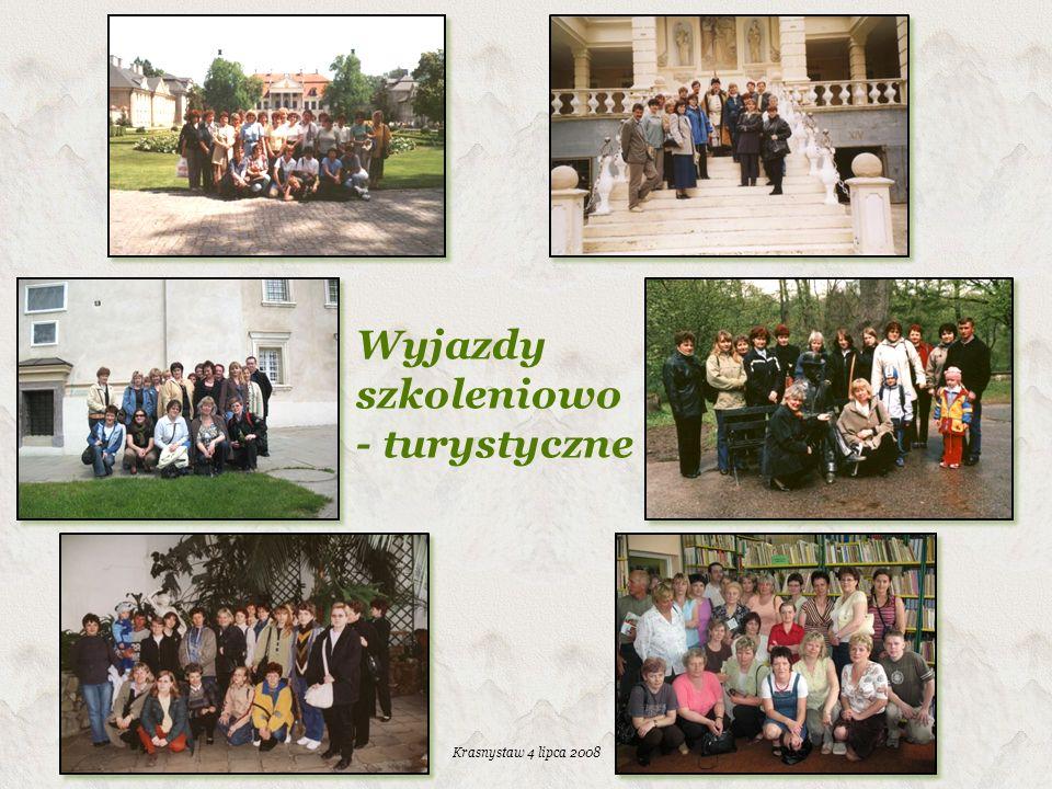 Wyjazdy szkoleniowo - turystyczne