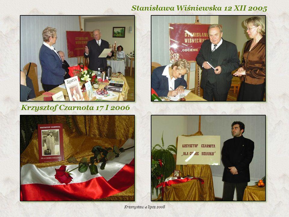 Stanisława Wiśniewska 12 XII 2005
