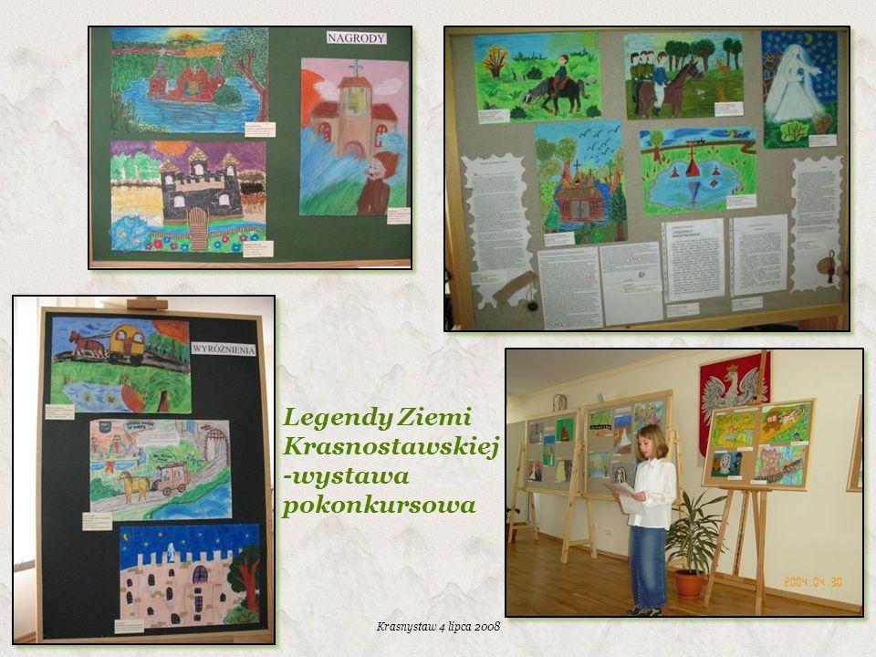 Legendy Ziemi Krasnostawskiej -wystawa