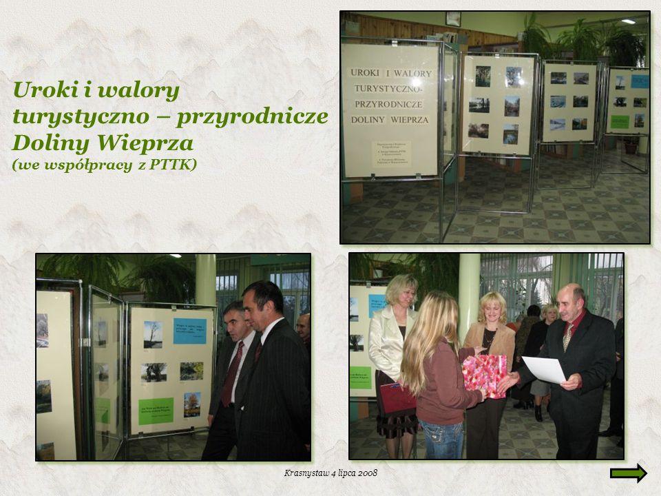 Uroki i walory turystyczno – przyrodnicze Doliny Wieprza (we współpracy z PTTK)
