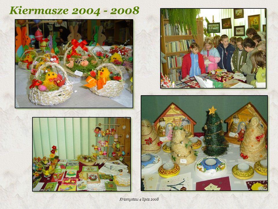 Kiermasze 2004 - 2008 Krasnystaw 4 lipca 2008