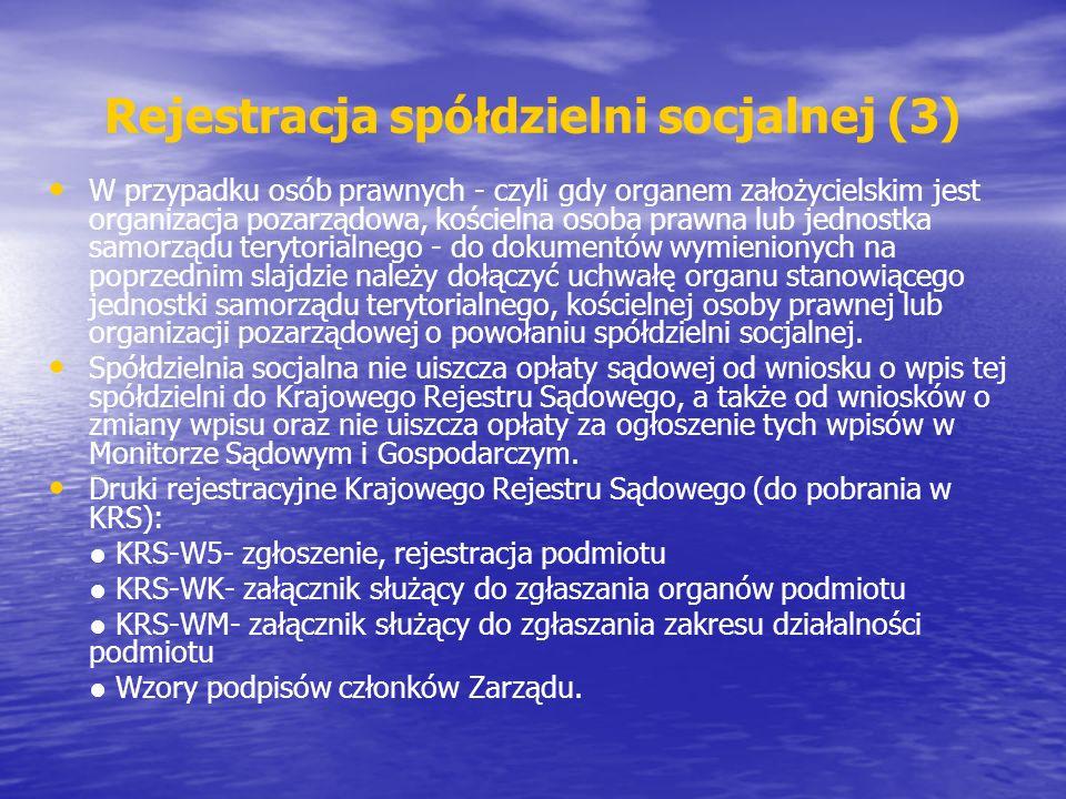 Rejestracja spółdzielni socjalnej (3)