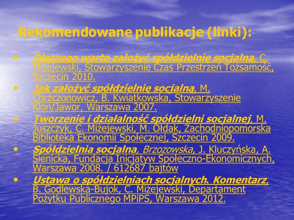Rekomendowane publikacje (linki):