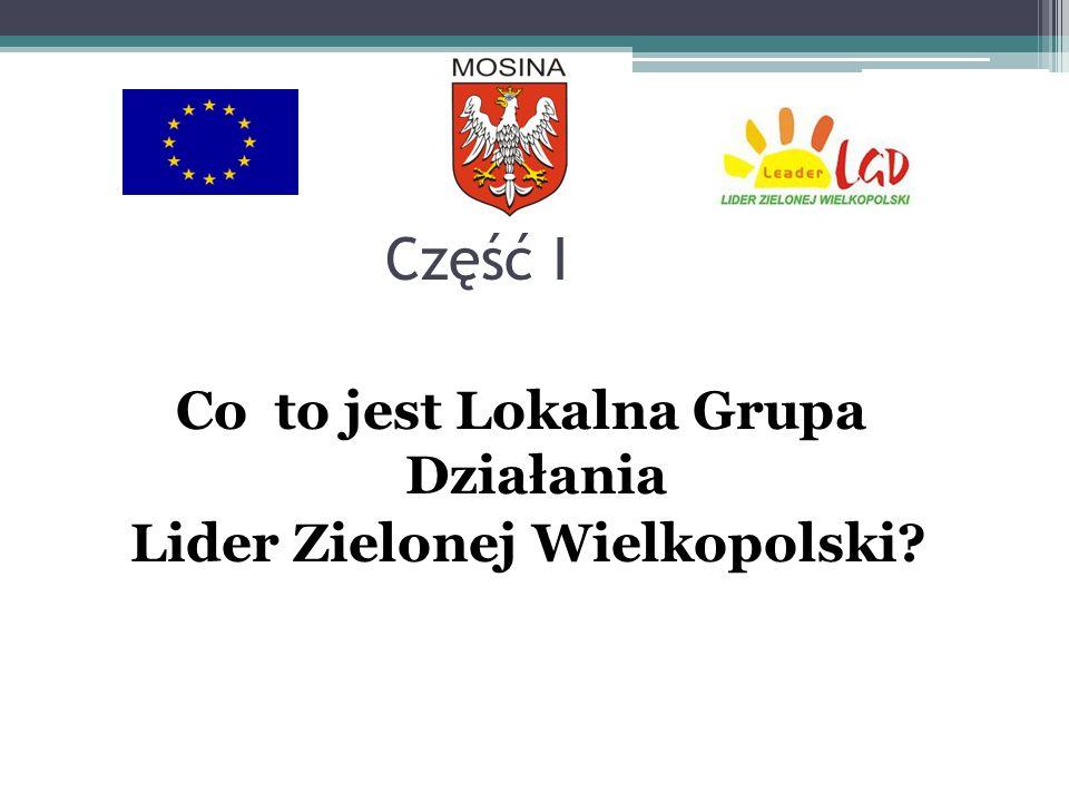 Co to jest Lokalna Grupa Działania Lider Zielonej Wielkopolski