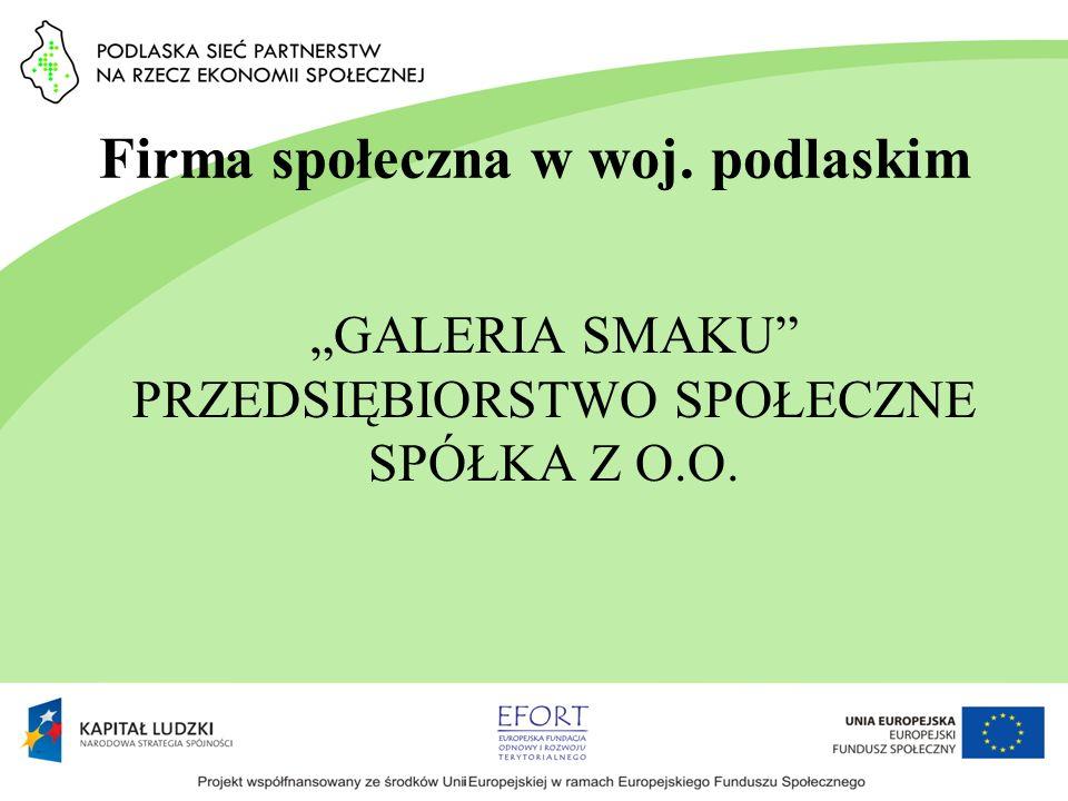 Firma społeczna w woj. podlaskim