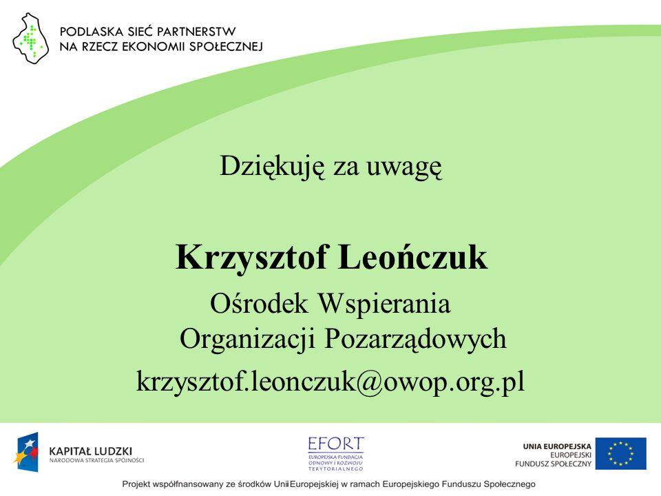Ośrodek Wspierania Organizacji Pozarządowych