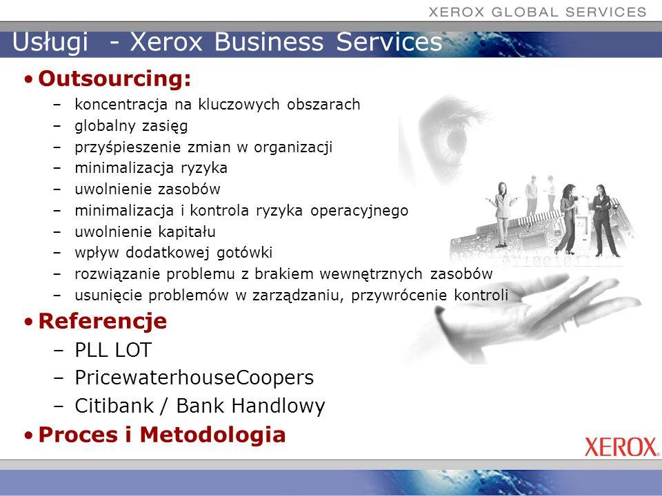 Usługi - Xerox Business Services