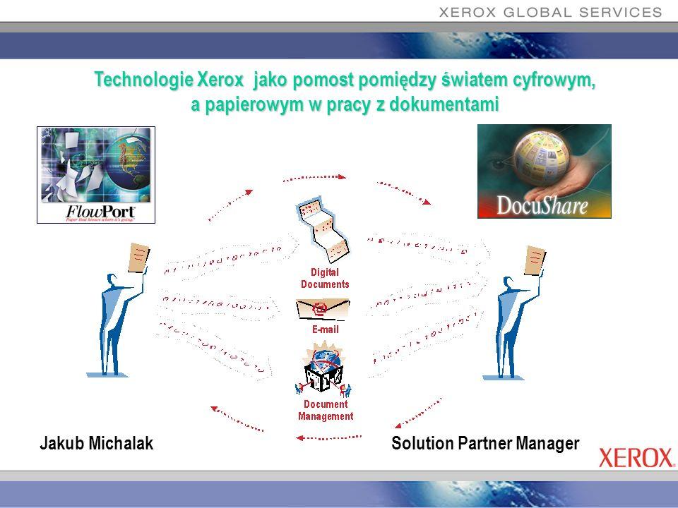 Technologie Xerox jako pomost pomiędzy światem cyfrowym, a papierowym w pracy z dokumentami