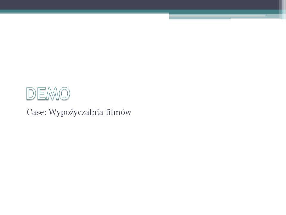 DEMO Case: Wypożyczalnia filmów
