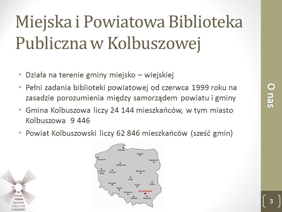 Miejska i Powiatowa Biblioteka Publiczna w Kolbuszowej