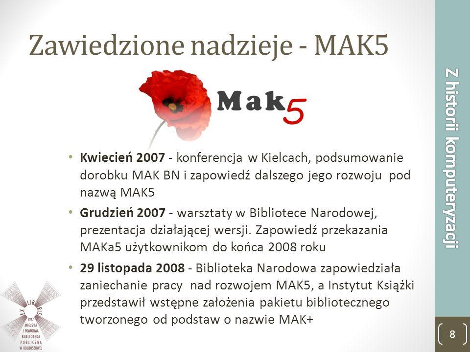 Zawiedzione nadzieje - MAK5