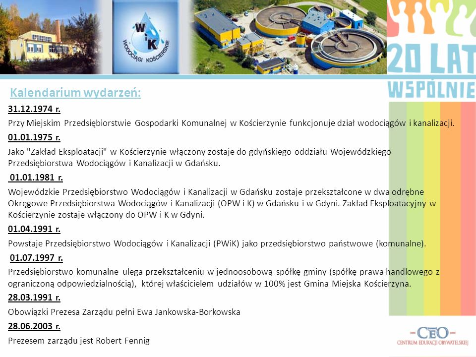 Obowiązki Prezesa Zarządu pełni Ewa Jankowska-Borkowska 28.06.2003 r.