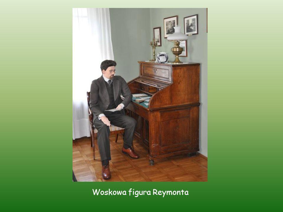 Woskowa figura Reymonta