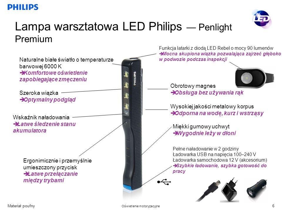 Lampa warsztatowa LED Philips — Penlight Premium