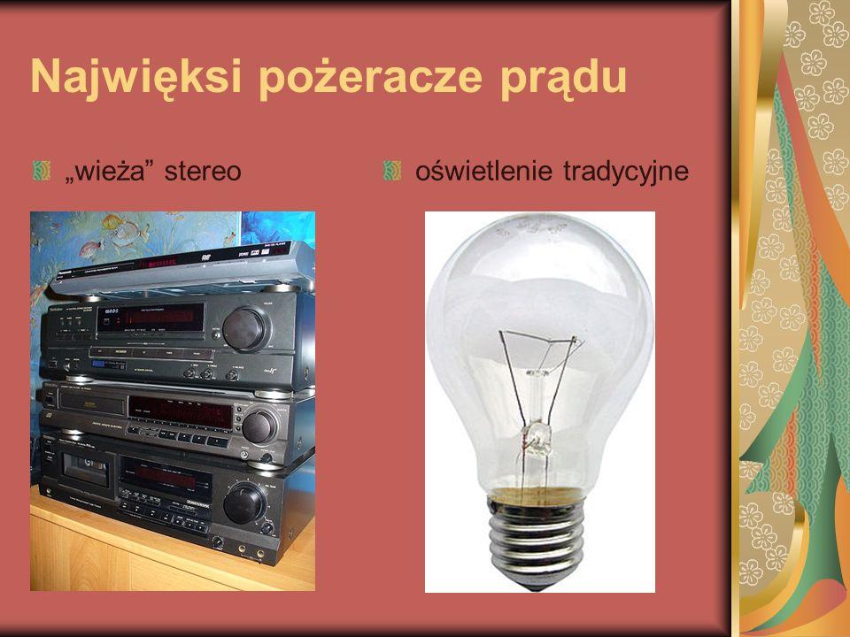Najwięksi pożeracze prądu