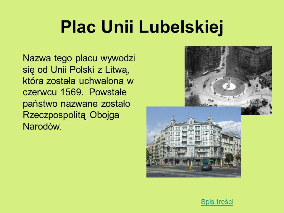 Plac Unii Lubelskiej