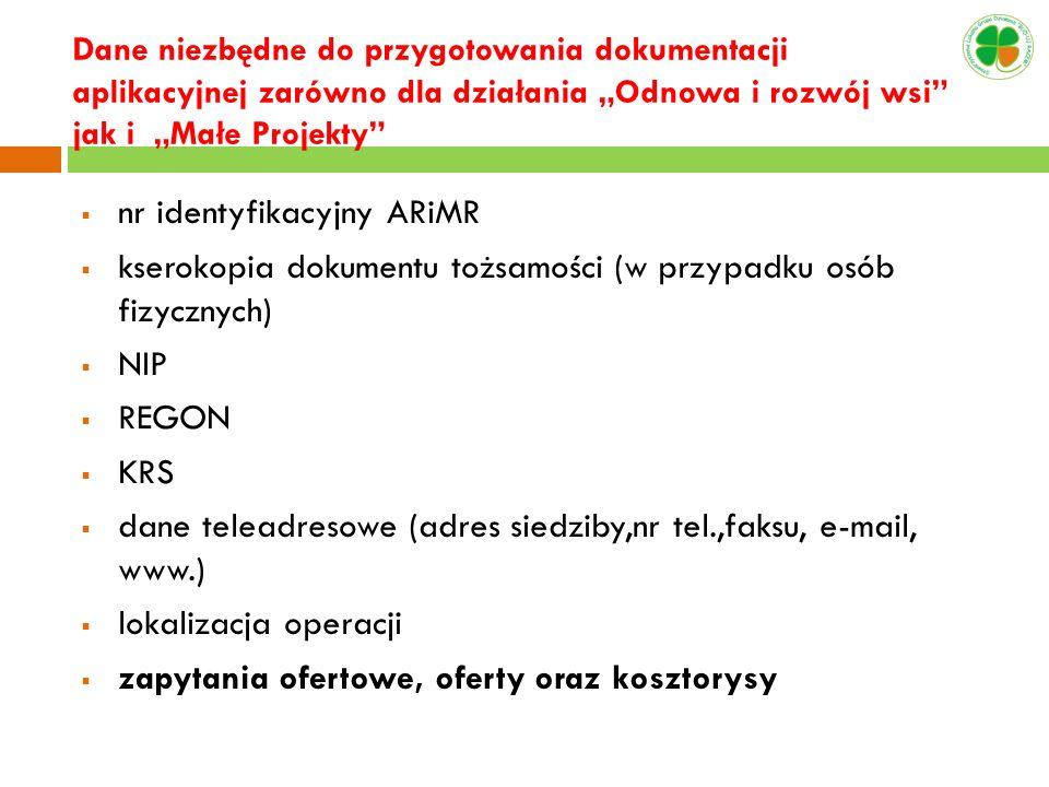 nr identyfikacyjny ARiMR