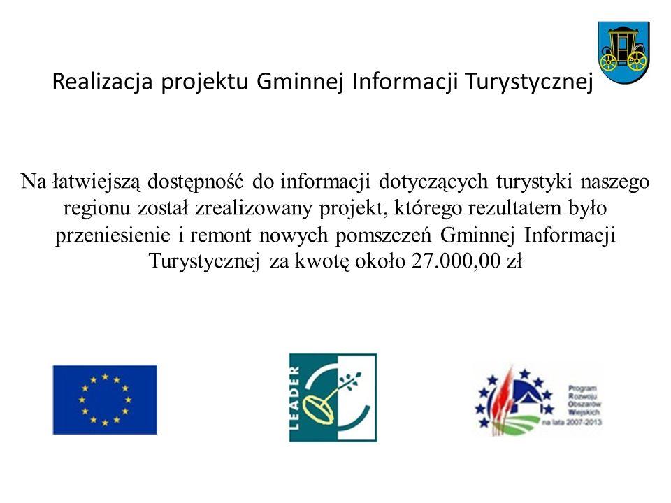 Realizacja projektu Gminnej Informacji Turystycznej