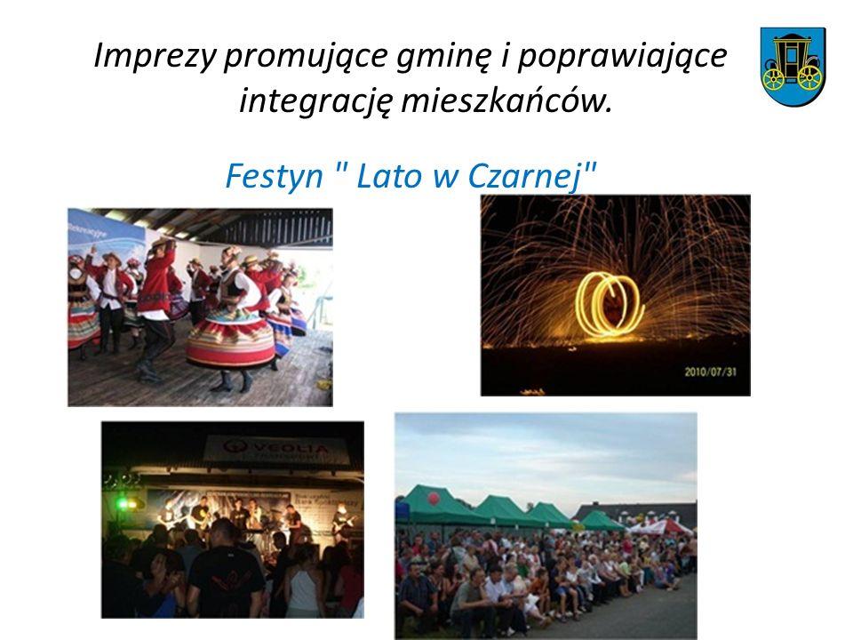 Imprezy promujące gminę i poprawiające integrację mieszkańców