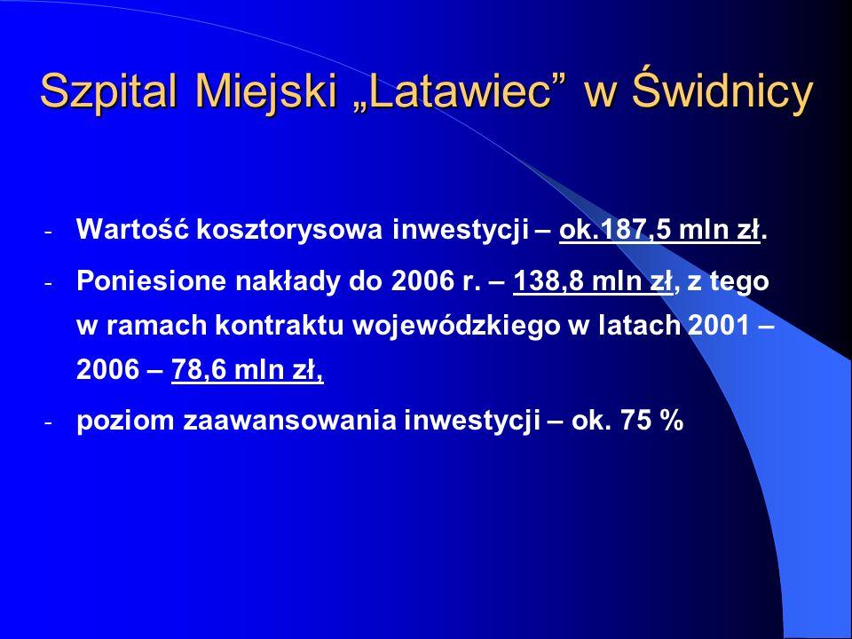"""Szpital Miejski """"Latawiec w Świdnicy"""