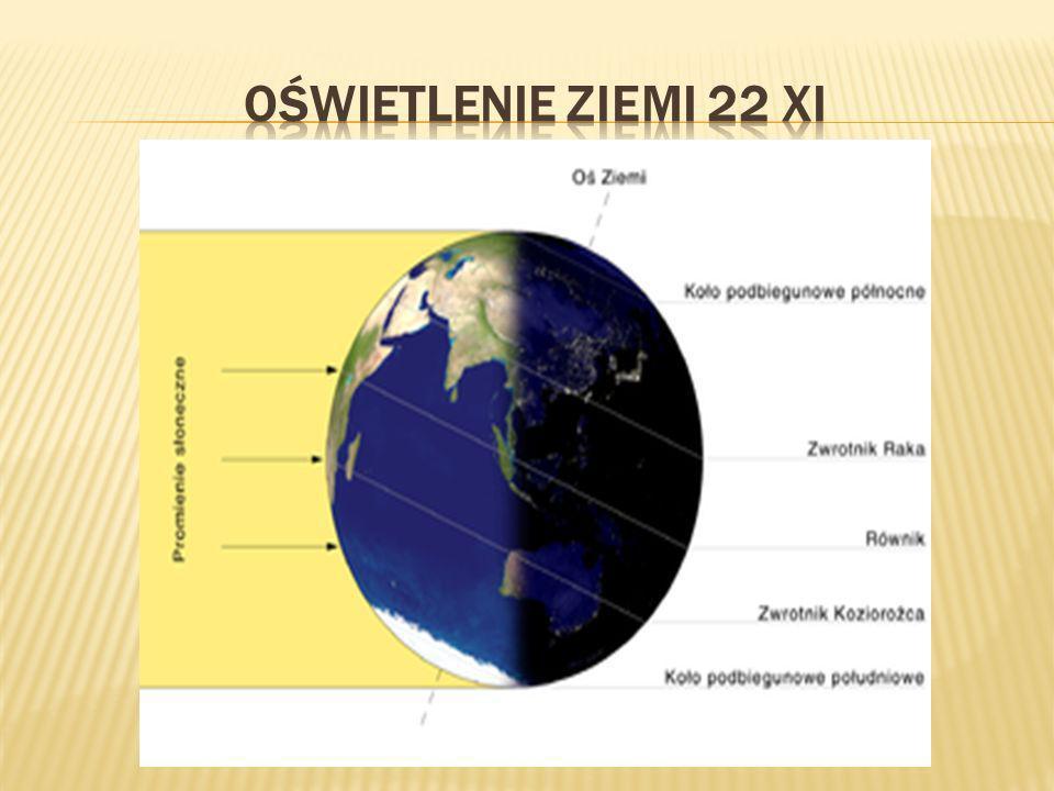 Oświetlenie ziemi 22 xi