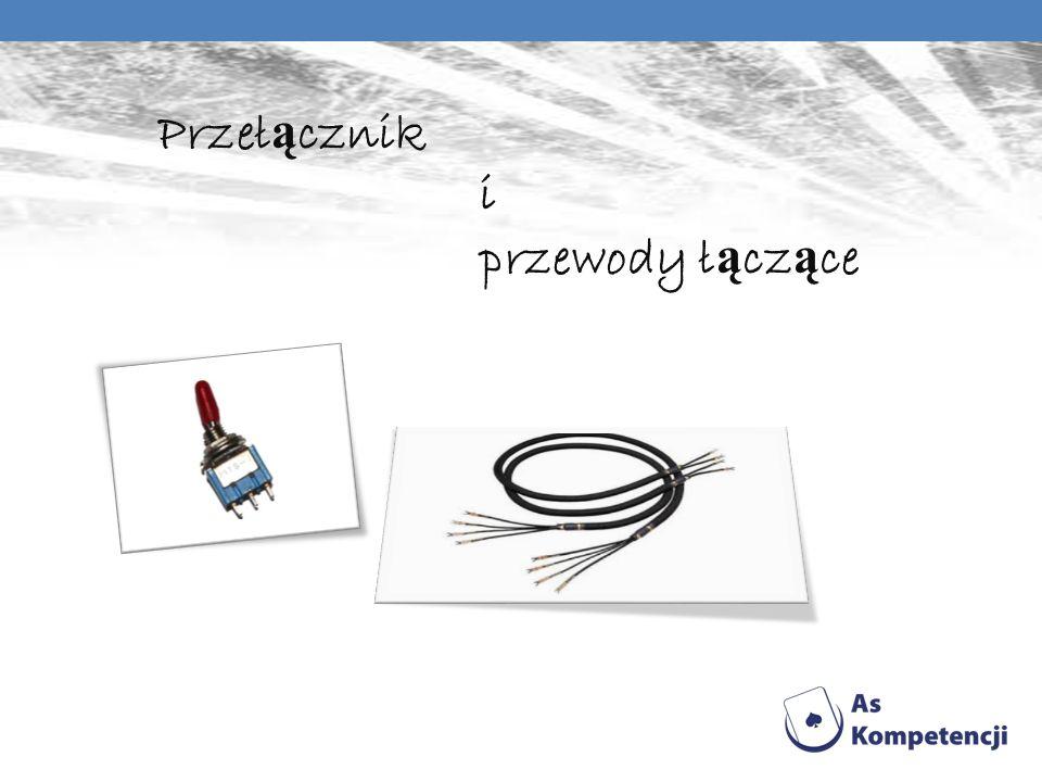 Przełącznik i przewody łączące