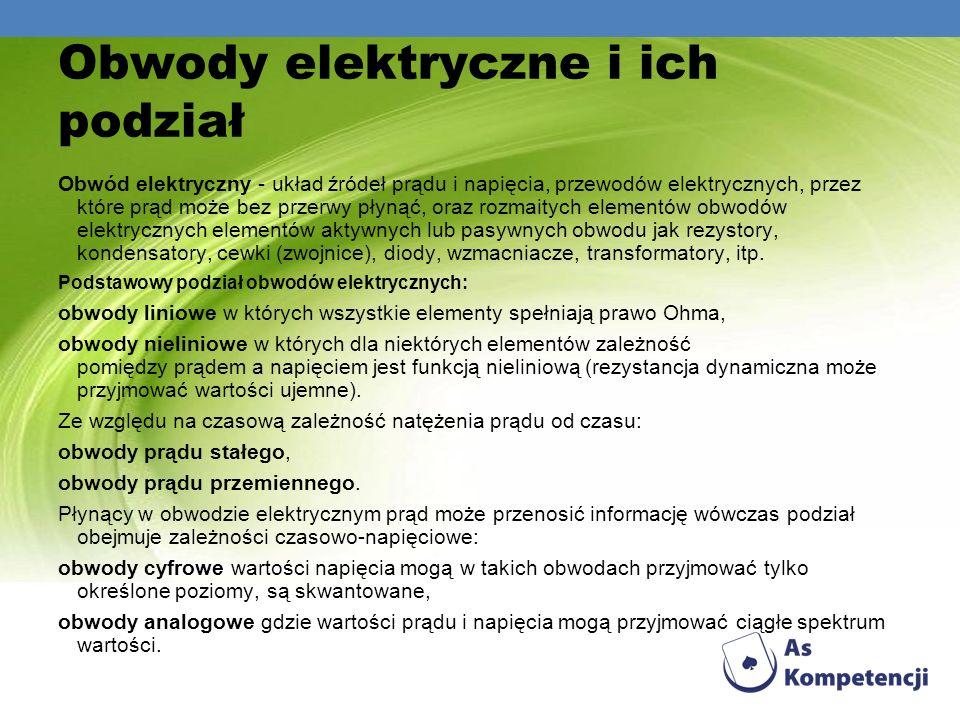 Obwody elektryczne i ich podział