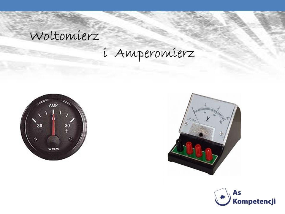 Woltomierz i Amperomierz