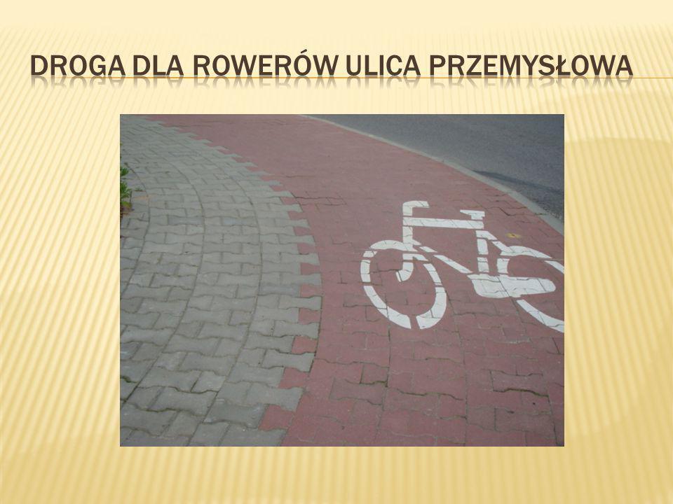 Droga dla rowerów ulica przemysłowa