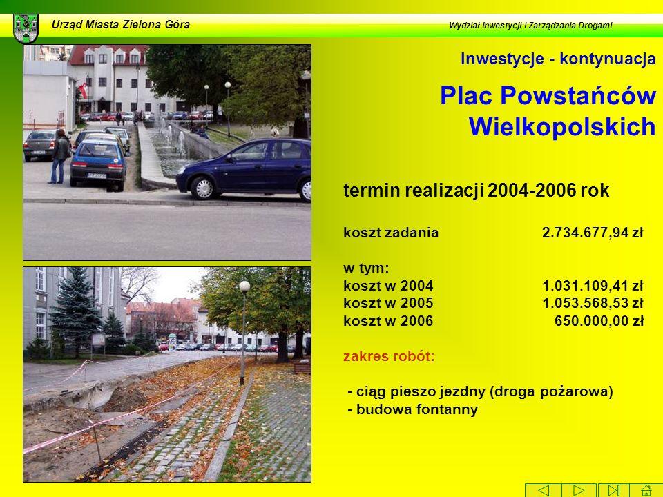 Plac Powstańców Wielkopolskich