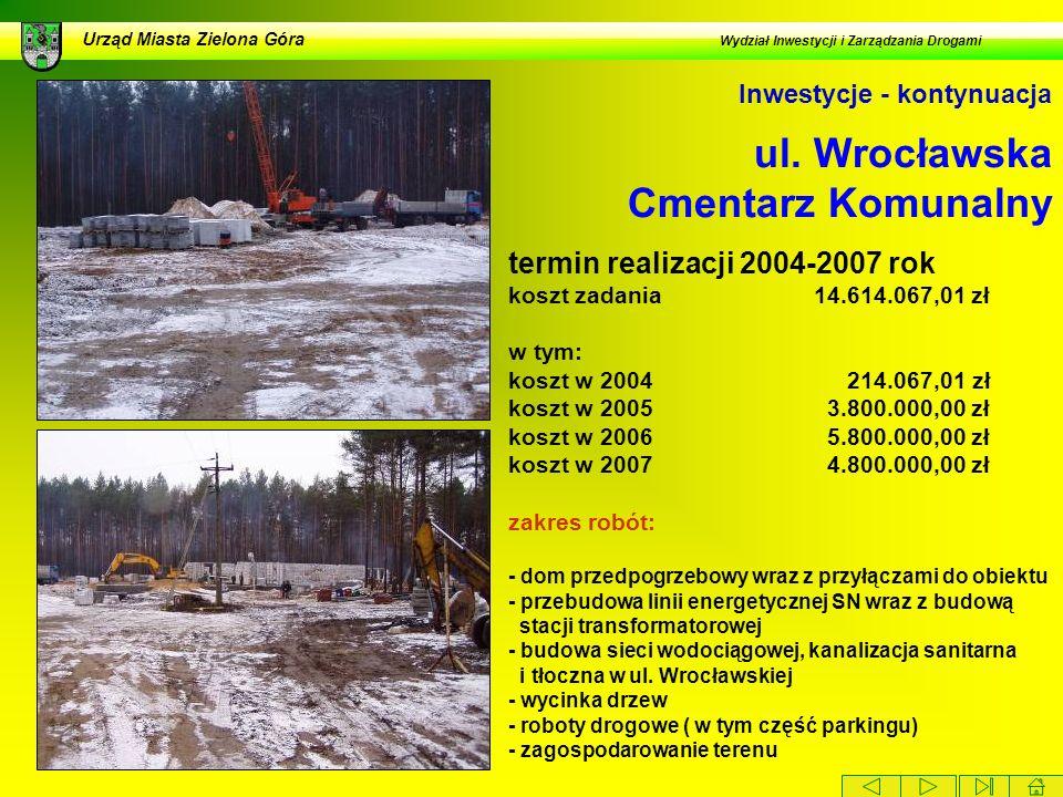 ul. Wrocławska Cmentarz Komunalny