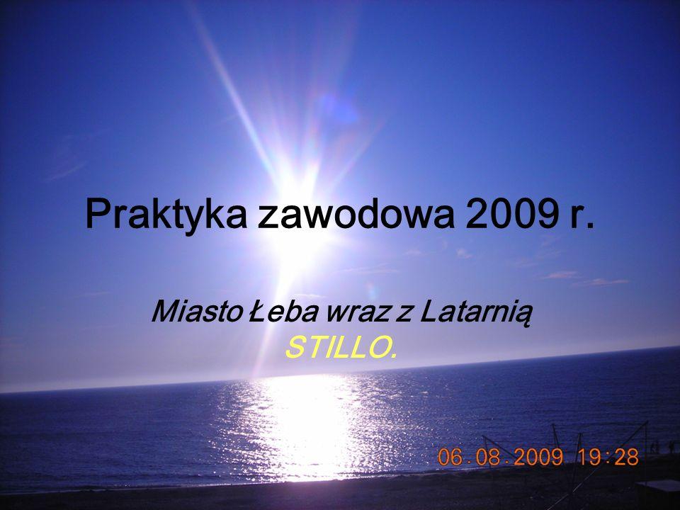 Miasto Łeba wraz z Latarnią STILLO.