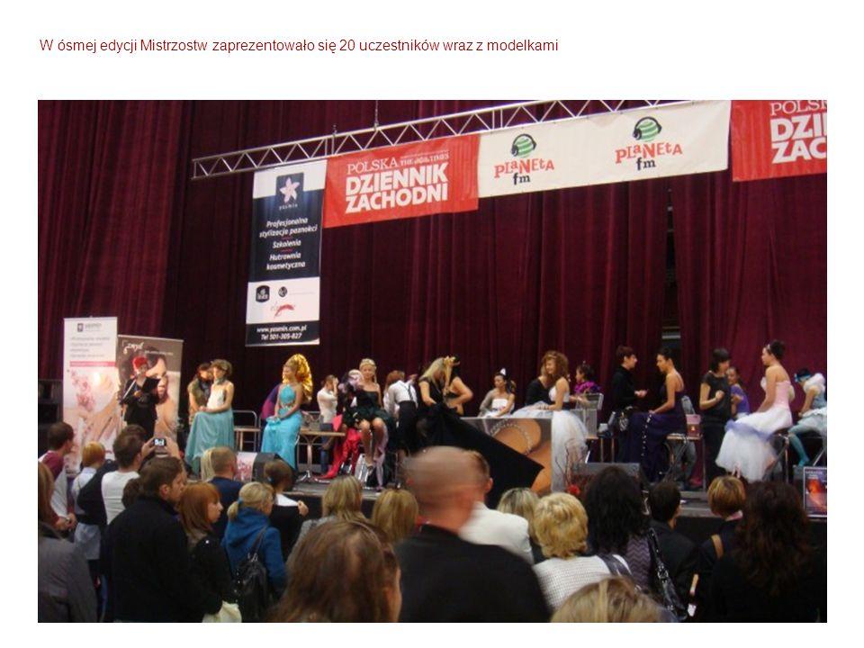 W ósmej edycji Mistrzostw zaprezentowało się 20 uczestników wraz z modelkami
