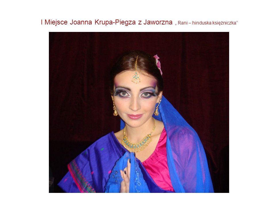 """I Miejsce Joanna Krupa-Piegza z Jaworzna """" Rani – hinduska księżniczka"""