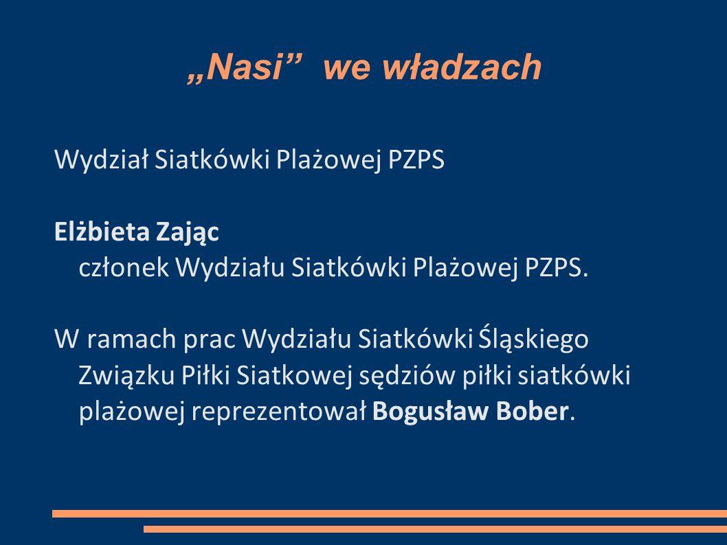 """""""Nasi we władzach Wydział Siatkówki Plażowej PZPS"""