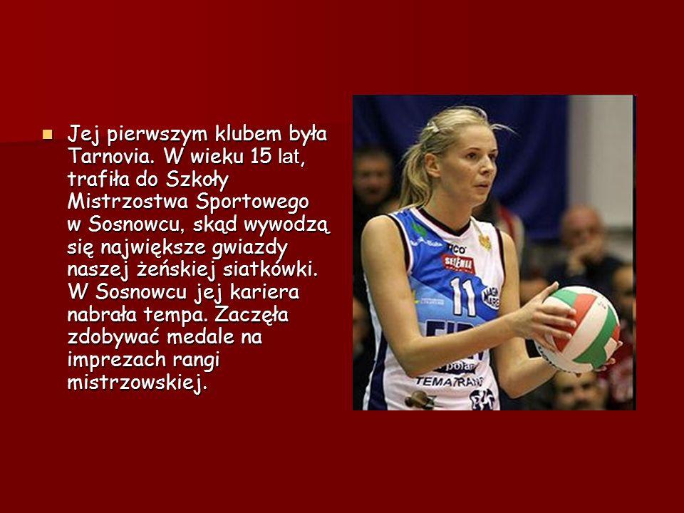 Jej pierwszym klubem była Tarnovia
