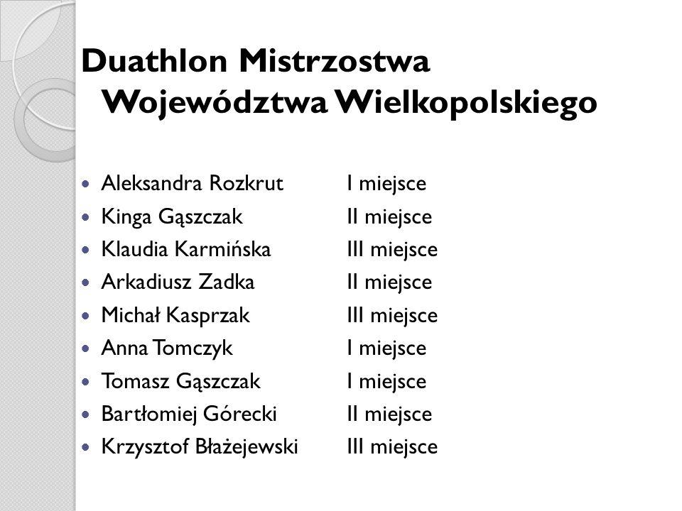 Duathlon Mistrzostwa Województwa Wielkopolskiego